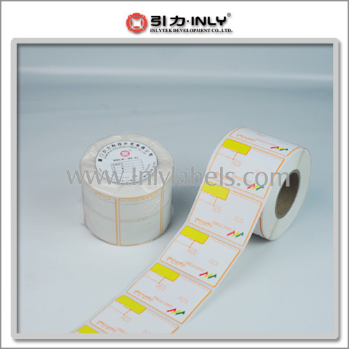 Direct Thermal Scale Labels