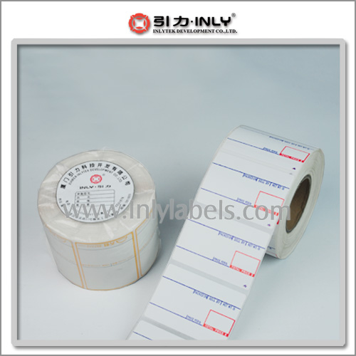 Printed Direct Thermal Scale Labels