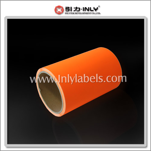 Jumbo Rolls of Fluorescent Label Materials