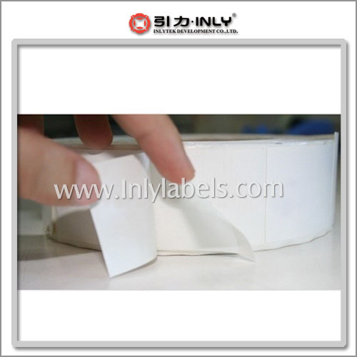 Three-layer label (thermal transfer label, art paper label)